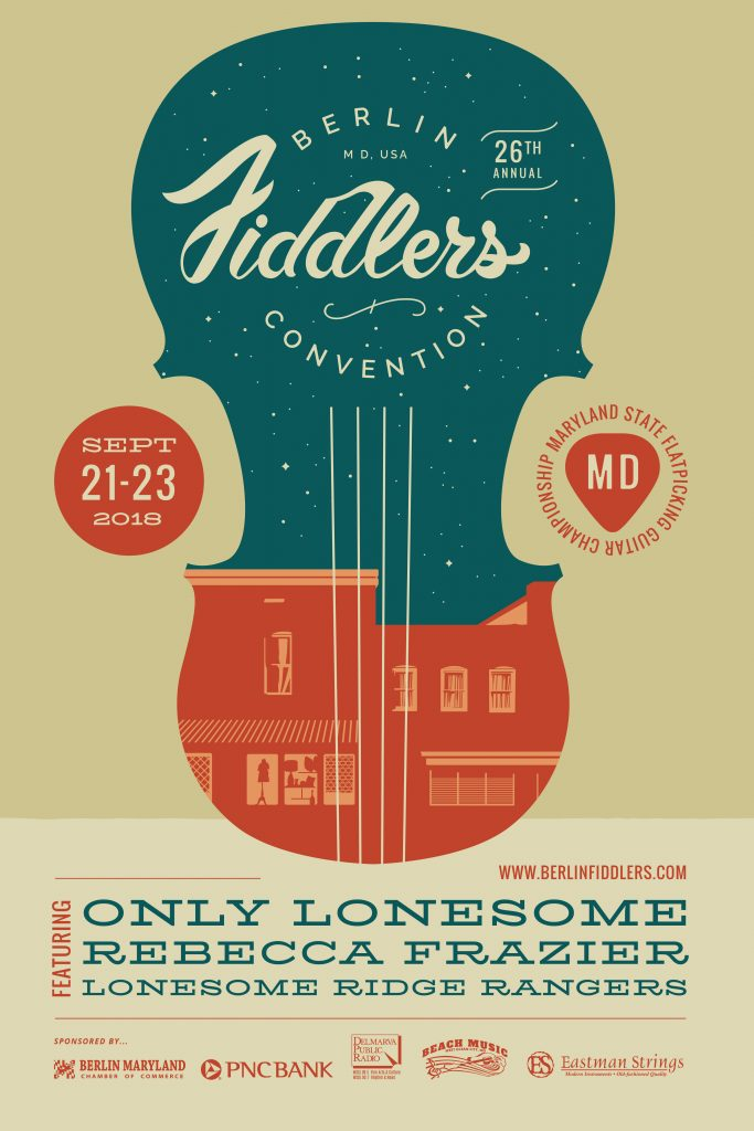 Berlin Fiddlers Convention Flyer