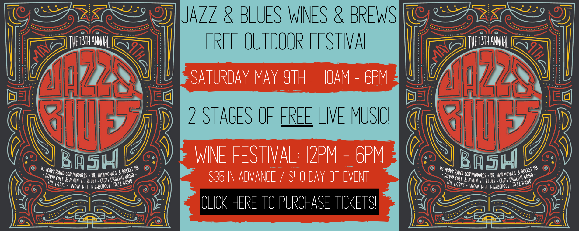 Berlin Blues and Jazz Fest graphic